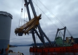 Knuckle Boom Crane from Norway to South Korea